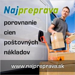 Porovnávač kuriérskych služieb NajPreprava.sk